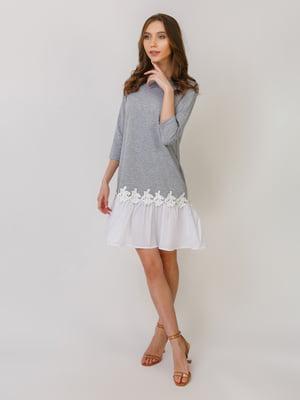 Платье серое | 5379474