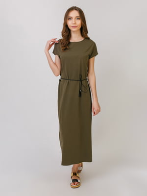 Сукню кольору хакі   5379475