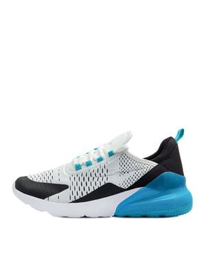 Кроссовки бело-синие | 5380703