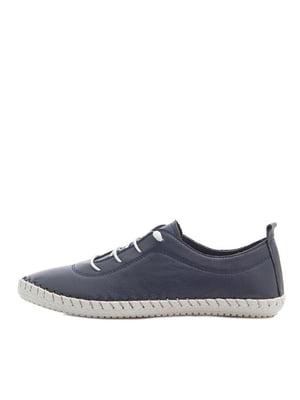 Туфли темно-синие | 5380719