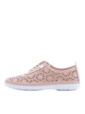Туфлі кольору пудри | 5380725