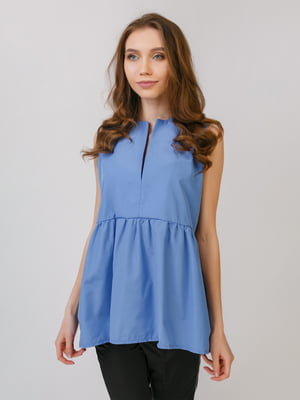 Блуза блакитна | 5379526