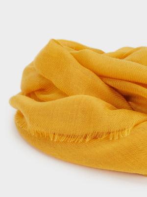 Шарф желтый   5370366
