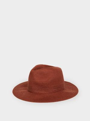 Шляпа винного цвета | 5370550