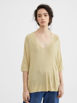 Пуловер блідо-жовтий | 5370599