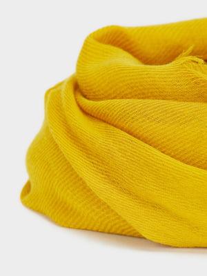 Шарф желтый   5370869
