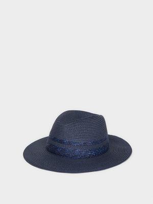 Шляпа темно-синяя | 5370897