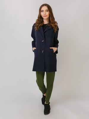 Пальто синє   5379486