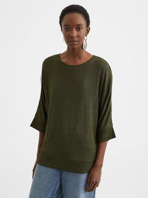 Джемпер кольору хакі | 5370339