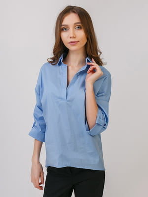 Рубашка голубая | 5379531