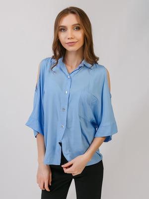 Сорочка блакитна | 5379535