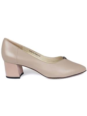 Туфлі бежеві | 5380938
