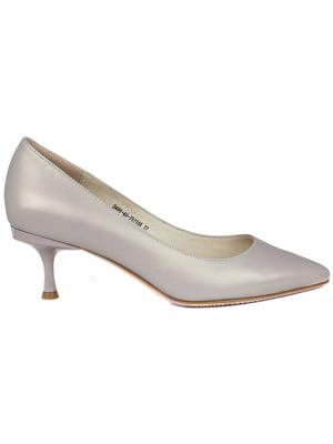Туфли серые   5380941
