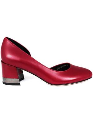 Туфлі бордові   5380946