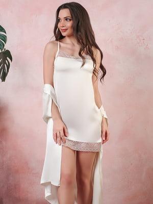 Сорочка нічна молочна | 5381042