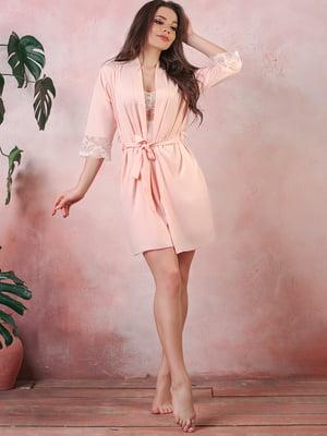 Халат персикового цвета | 5381047