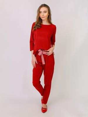 Костюм: лонгслів і штани | 5380949