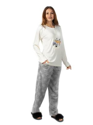 Піжама: лонгслів і штани | 3845740