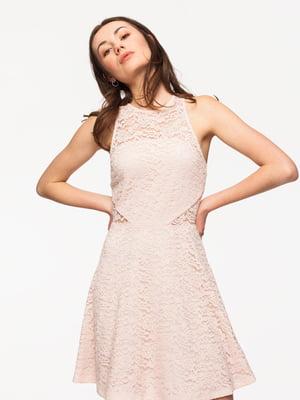 Сукня кольору пудри   4161119