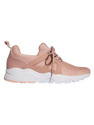 Кроссовки розово-бежевые | 4508498
