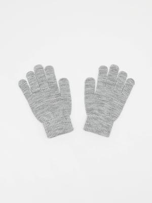 Перчатки серые | 5352350