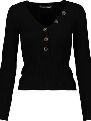 Пуловер чорний | 5367364