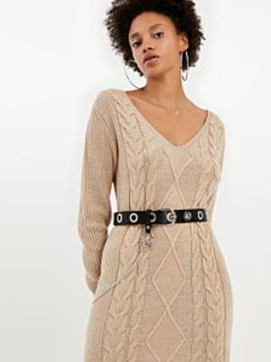 Платье бежевое | 5367378