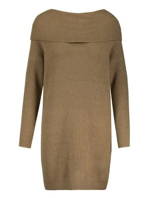 Платье цвета хаки | 5367543
