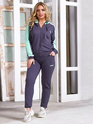 Костюм спортивный: толстовка и брюки | 5381904