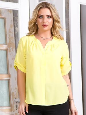 Блуза жовта   5381937