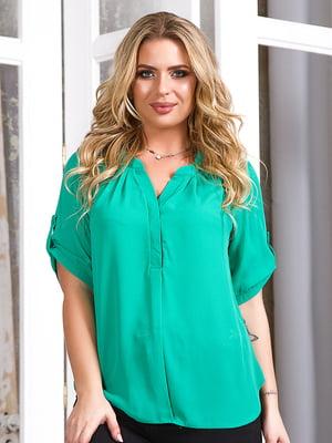 Блуза зеленая | 5381938