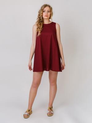 Сукня бордова | 5379451
