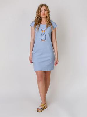 Сукня блакитна | 5379433
