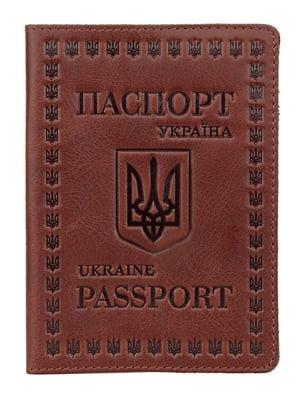 Обложка на паспорт коричневая | 5382184