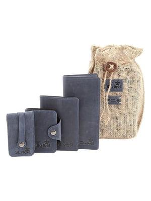 Набор: визитница, обложка на паспорт, ключница и кошелек | 5382891