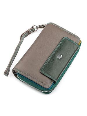 Кошелек двухцветный - ST Leather - 5383076