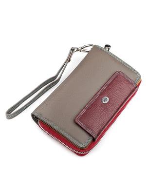 Кошелек двухцветный - ST Leather - 5383078