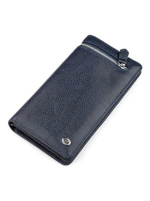 Кошелек синий - ST Leather - 5383079