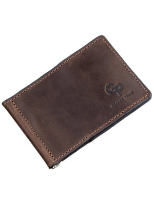 Зажим для денег коричневый | 5383592
