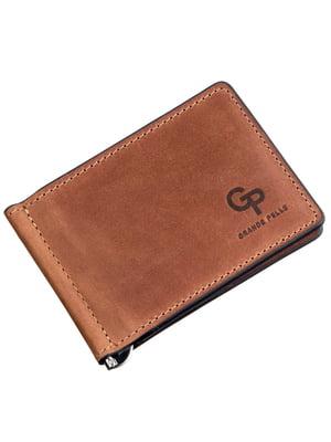 Зажим для денег коричневый | 5383621