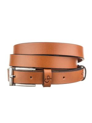 Ремень коричневый - Grande Pelle - 5383642