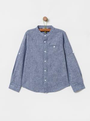 Рубашка синяя | 5372052