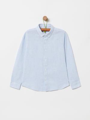 Рубашка голубая | 5372057