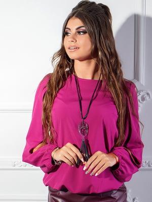 Блуза кольору фуксії | 5383734
