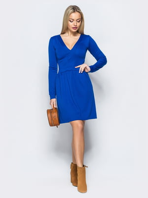 Сукня кольору електрик | 5383738