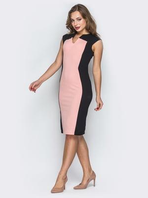 Сукня чорно-рожева | 5383744