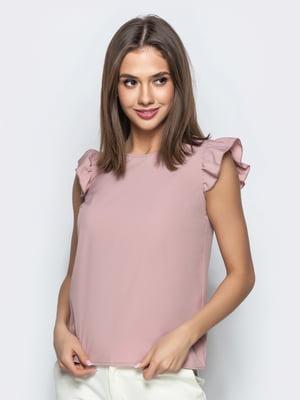 Блуза цвета пудры | 5383748