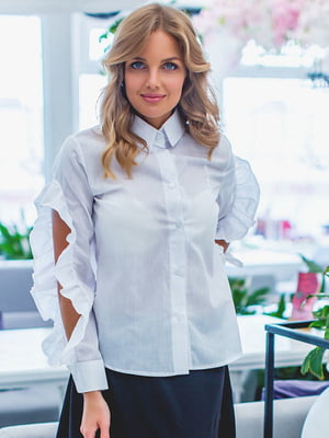 Рубашка белая | 5383779
