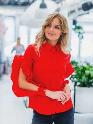 Рубашка красная | 5383780