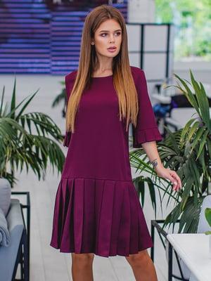 Сукня кольору марсали | 5383784